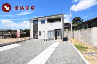 岡山県倉敷市児島上の町の新築一戸建て分譲住宅の外観 物件詳細ページにリンク