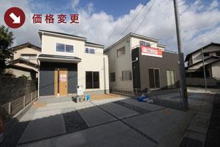 岡山市中区藤原光町の新築一戸建て分譲住宅の外観 物件詳細ページにリンク