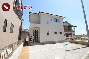 岡山市中区平井の新築一戸建て分譲住宅の外観 物件詳細ページにリンク