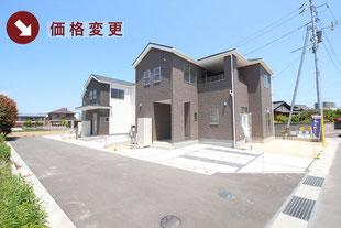 岡山県総社市溝口の新築一戸建て分譲住宅の外観 物件詳細ページにリンク