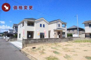 岡山県岡山市東区東平島の新築一戸建て分譲住宅の外観 物件詳細ページにリンク