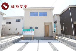 岡山市南区福島3丁目の新築一戸建て分譲住宅の外観 物件詳細ページにリンク