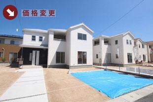 岡山県総社市井手の新築一戸建て分譲住宅の外観 物件詳細ページにリンク