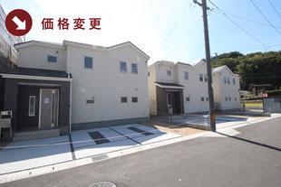 岡山県倉敷市福田町浦田の新築一戸建て分譲住宅の外観 物件詳細ページにリンク