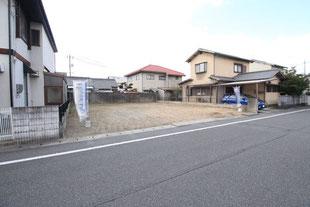 岡山県岡山市南区あけぼの町の新築一戸建て分譲住宅の外観 物件詳細ページにリンク