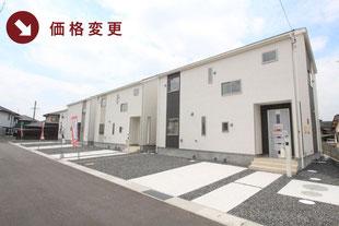 岡山県岡山市北区小山の新築一戸建て分譲住宅の外観 物件詳細ページにリンク