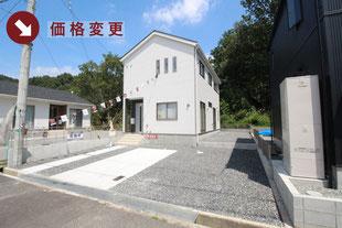 岡山県都窪郡早島町若宮の新築一戸建て分譲住宅の外観 物件詳細ページにリンク