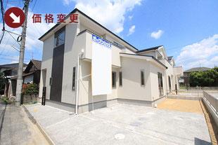 岡山県岡山市北区高松原古才の新築一戸建て分譲住宅の外観 物件詳細ページにリンク