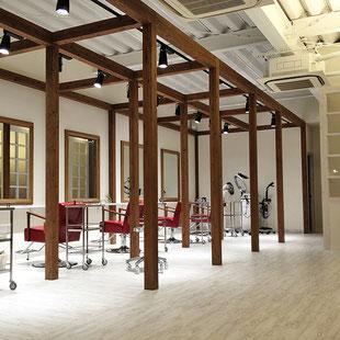 建築 施工例 岡山市のヘアサロ .toro hair salonの詳細情報ページへのリンク