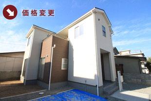 岡山市中区倉益の新築一戸建て分譲住宅の外観 物件詳細ページにリンク