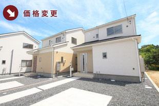 岡山県倉敷市玉島柏島の新築一戸建て分譲住宅の外観 物件詳細ページにリンク