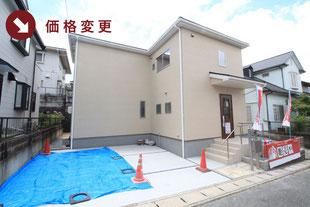 岡山市東区城東台東の新築一戸建て分譲住宅の外観 物件詳細ページにリンク