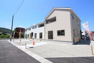岡山県倉敷市児島味野の新築一戸建て分譲住宅の外観 物件詳細ページにリンク