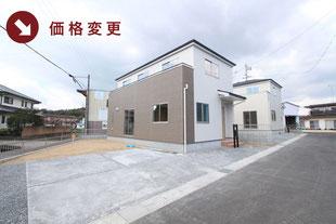 岡山県玉野市長尾の新築一戸建て分譲住宅の外観 物件詳細ページにリンク