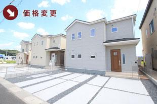 岡山県赤磐市町苅田の新築一戸建て分譲住宅の外観 物件詳細ページにリンク