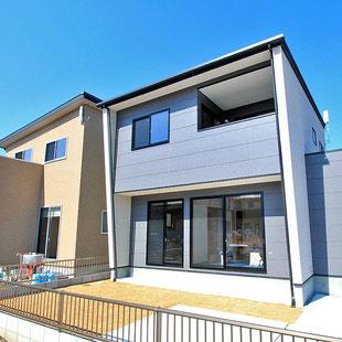建築 施工例 岡山市の分譲住宅ガーブタウン目黒町の詳細情報ページへのリンク