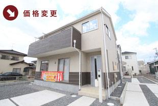 住所の新築一戸建て分譲住宅の外観 物件詳細ページにリンク