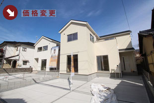 岡山県岡山市中区原尾島の新築一戸建て分譲住宅の外観 物件詳細ページにリンク