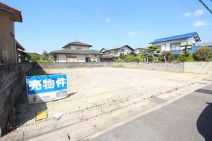 岡山県岡山市北区一宮の新築一戸建て分譲住宅の外観 物件詳細ページにリンク