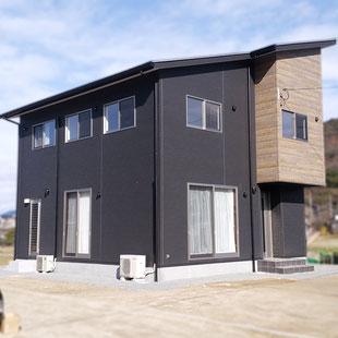 建築 施工例 岡山県玉野市の注文住宅の詳細情報ページへのリンク