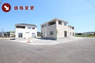 岡山県瀬戸内市長船町福岡の新築一戸建て分譲住宅の外観 物件詳細ページにリンク