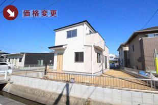 岡山県赤磐市河本の新築一戸建て分譲住宅の外観 物件詳細ページにリンク