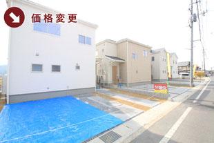 岡山県倉敷市松島の新築一戸建て分譲住宅の外観 物件詳細ページにリンク
