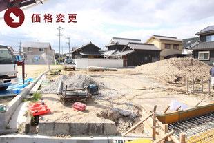 岡山県倉敷市上東の新築一戸建て分譲住宅の外観 物件詳細ページにリンク