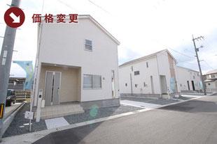 岡山県倉敷市福田町福田の新築一戸建て分譲住宅の外観 物件詳細ページにリンク