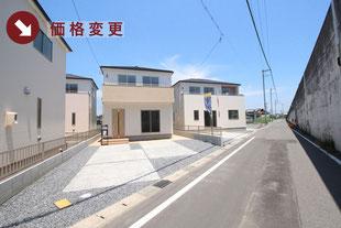 岡山県総社市中原の新築一戸建て分譲住宅の外観 物件詳細ページにリンク