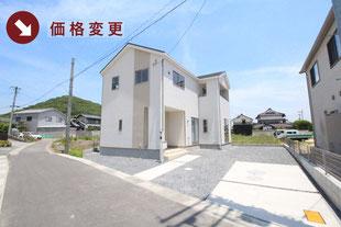 岡山県岡山市北区西辛川の新築一戸建て分譲住宅の外観 物件詳細ページにリンク