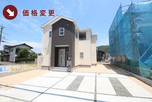 岡山県総社市清音上中島の新築一戸建て分譲住宅の外観 物件詳細ページにリンク