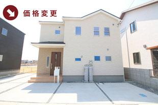 瀬戸内市邑久町山田庄の新築一戸建て分譲住宅の外観 物件詳細ページにリンク