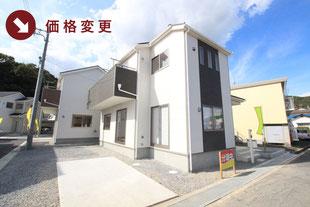 岡山県岡山市北区宿の新築一戸建て分譲住宅の外観 物件詳細ページにリンク