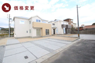 岡山県玉野市山田の新築一戸建て分譲住宅の外観 物件詳細ページにリンク
