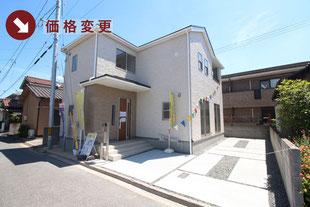 岡山県倉敷市中畝2丁目の新築一戸建て分譲住宅の外観 物件詳細ページにリンク