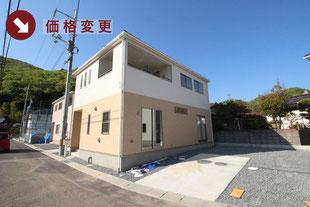 岡山県岡山市北区牟佐の新築一戸建て分譲住宅の外観 物件詳細ページにリンク