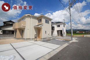 岡山県瀬戸内市長船町福里の新築一戸建て分譲住宅の外観 物件詳細ページにリンク