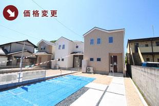 岡山県総社市泉の新築一戸建て分譲住宅の外観 物件詳細ページにリンク