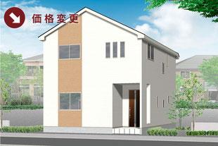 岡山県岡山市中区沢田の新築一戸建て分譲住宅の外観 物件詳細ページにリンク
