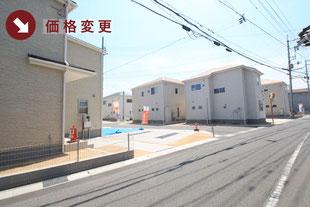 岡山県倉敷市船穂町船穂の新築一戸建て分譲住宅の外観 物件詳細ページにリンク