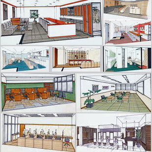 ビルリフォーム 高校の教室 会議室 / 内装・デザイン パース画のページへのリンク