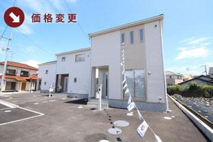 岡山県総社市真壁の新築一戸建て分譲住宅の外観 物件詳細ページにリンク