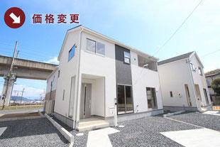 岡山県倉敷市児島阿津の新築一戸建て分譲住宅の外観 物件詳細ページにリンク