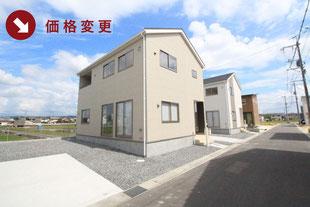 岡山県倉敷市片島町の新築一戸建て分譲住宅の外観 物件詳細ページにリンク