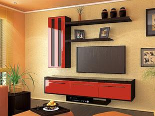 стенки в гостиную