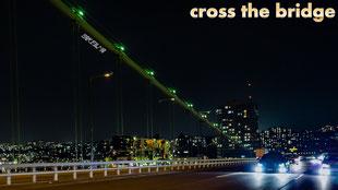 TOYOTA CROWN cross the Bridge 4K
