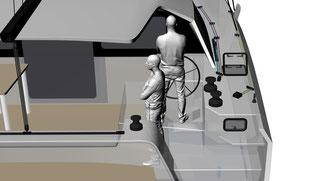 Raku cockpit Access 2 of 3