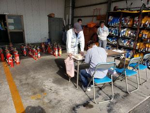 平成30年11月11日(日)浜松市浜北消防署にて不要消火器回収しました