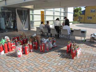 平成30年11月11日(日)中消防署にて不要消火器回収を実施致しました。
